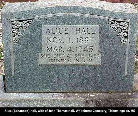 alicebohannon-headstone