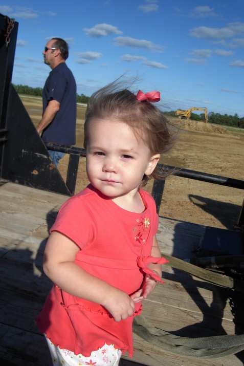 Callie, Ronny & Cindy's beautiful granddaughter (Nick & Debbie's little girl)