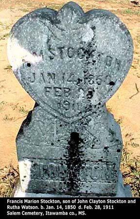 Francis Stockton, Son of Joseph C. Stockton