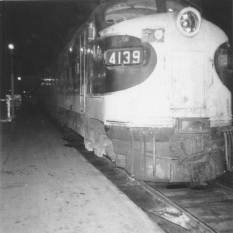 A view of the head end of the last No. 46 to depart Memphis Union Station (Lyle Key Photo)