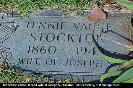 Tennie Vance Stockton