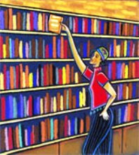 bookcase_girl